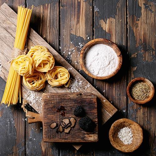 Pasta Farina Cereali prodotti da forno Salse e conserve Legumi Azienda Agricola Biologica Bio & Sisto